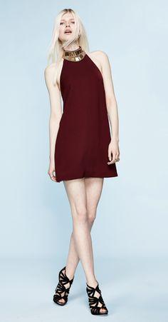 KEEPSAKE Modern Myth Halter-Neck Mini Dress
