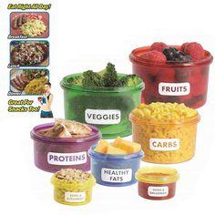 7 x Frischhaltedosen,Frischhaltebox Kanister für Getrocknete Früchte Obst Gemüse