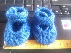 schoentjes blauw