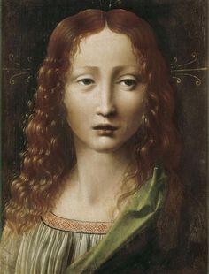 Leonardo Da Vinci (1452 - 1519) • Head of the Young Saviour