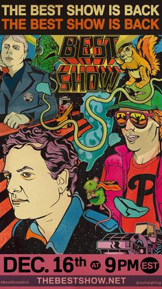 Beloved Cult Comedy Radio Program 'The Best Show' Returns as a Podcast