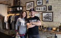 Today's Notable Young Entrepreneurs are Daniel Phillips and Meghan Kraft, who launched their Canadiana lifestyle brand to offer local products of the highest quality that simultaneously open a dialogue about the influence fashion has on our planet; Local Products, Young Entrepreneurs, Young Professional, Product Launch, Lifestyle, Fashion, Moda, La Mode, Fasion