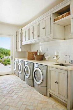 Fifty Stylish Laundry Room Ideas