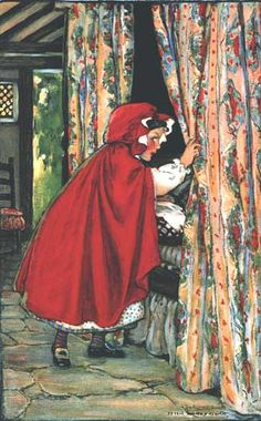 Little Red Riding Hood. Swift's Premium Calendar. Swift's Soap Products, 1916.