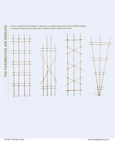 Build a Bamboo Trellis - Fine Gardening Article