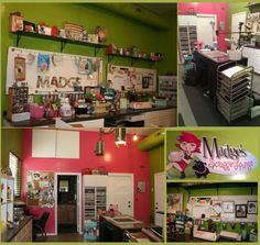 'Madge's Scrappin' Lounge: Craft Room Tours...!' (via Cut Out + Keep Craft Blog)
