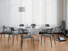 #Muzo Punk chairs. Lightweight and stackable chairs.
