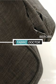 At the leather and fabric doctor, we're able to repair damage as well as undone stitching, helping your lounges look better! Leather Repair, Leather Cleaning, Lounges, Stitching, Fabric, Costura, Tejido, Salons, Stitches