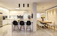 המהפכה הפוסט-מודרנית: עיצוב נקי לדירה בראשון לציון | בניין ודיור