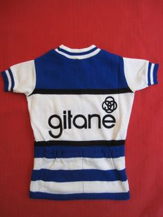 Maillot Cycliste Cycles Gitane Tour DE France Vintage 70'S Vélo BE 8 ANS | eBay