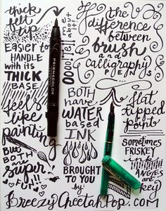 Pen Tips for Great Handwriting
