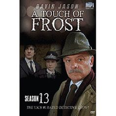 A Touch of Frost Season 13 DVD  Season 13 INCLUDES: Endangered Species Mystery Tv Series, A Touch Of Frost, David Jason, Endangered Species, Seasons, Movies, Seasons Of The Year, Films, Movie Quotes