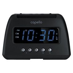 #techie #pioneer Wake up refreshed and recharged with this stylish, compact #alarm clock radio. This clock radio features two (2) USB charging ports, which allow...
