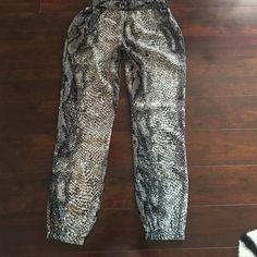 Jogger pants Never worn sz xs Pants