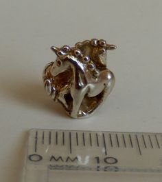 STERLING SILVER Bead SALE  Magic Unicorns by stoneflysilver, $22.99