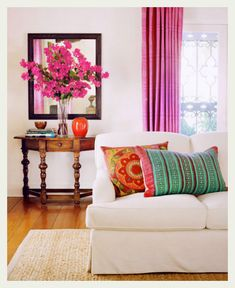 A bright Indian home, that resonates happiness!