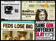 """8/25/14 - Sandy Hook, Ruby Ridge, Waco, OKC, Columbine: Conflicting Stories and Common Threads ------------ """"The more we do to you, the less you seem to believe we are doing it."""" – Dr. Josef Mengele, German SS Officer (Hitler's private army)"""