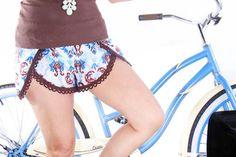 Pinwheel DIY Shorts Pattern | AllFreeSewing.com
