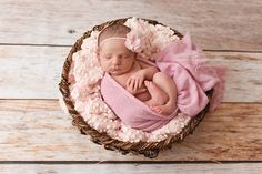 Pink Popcorn Blanket Posing Fabric Newborn Photography Backdrop | Beautiful Photo Props