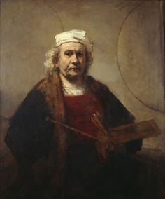 Rembrandt: One of many self-portraits so real and heart-felt