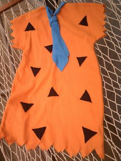 Fred Flintstone inspired costume  halloween  by ladybugsnbees, $34.99