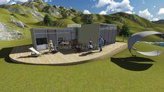 Proiect casa de vacanta parter munte by AIA Proiect Romania - tel 0722494447 Case, Home Fashion, Montana, Mansions, House Styles, Modern, Home Decor, Flathead Lake Montana, Trendy Tree