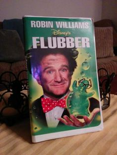 "Flubber (1997) with Robin Williams, Marcia Gay Harden, Christopher McDonald -- An absent-minded professor discovers ""flubber,"" a rubber-like super-bouncy substance."