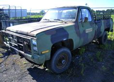1986 Chevrolet 4X4 CUCV Cargo Truck. Every prepper needs one! Find your bug out vehicle on GovLiquidation.