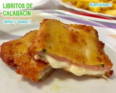 libritos de calabacín con jamón y queso Honey Recipes, Healthy Recipes, Italian Recipes, Mexican Food Recipes, Primers, Breakfast Time, Pretty Cakes, Buffet, Food And Drink
