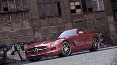 3D car - Mercedes Sls