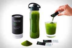 Matcha green tea is a great coffee alternative with tons of health benefits. It delivers comparable energy without the jitters or caffeine crash of coffee,. Matcha Green Tea, Great Coffee, Greece, Water Bottle, Packaging, Drinks, Health, Instagram Posts, Magazine