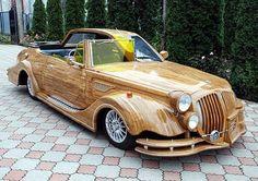 Qualquer coisa pode ser feito com madeira!