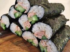 Recipe PERFECT SUSHI RICE by Aussie Thermomixer, learn to make this recipe easily in your kitchen machine and discover other Thermomix recipes in Pasta & rice dishes. Perfect Sushi Rice Recipe, Sushi Rice Recipes, Healthy Recipes, Rice Dishes, Food Dishes, Sushi Fillings, Kneading Dough, Homemade Seasonings, Recipe Please