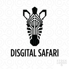 Exclusive Customizable Logo For Sale: Digital Safari | StockLogos.com Logo reference idea