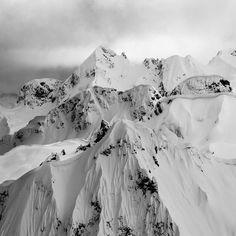 The Whistler backcountry is endless. Photo: @darcybacha #twsnow #snow…