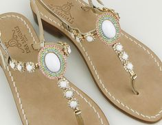 Dea Sandals Capri hadmade jewel sandal new collection spring summer 2015