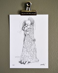 a piece of me-- great birth mother gift idea I think. I love her doodles. She has a gift with art.