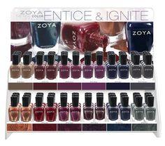 Zoya Entice & Ignite Fall 2014   via Pointless Cafe