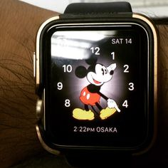oh mickey!!! you're so fine 2x you blow my mind... Hey mickey hey mickey!!  #heymickey #applewatch #applewatchsport #applewatchtheme #applewatch42mm #applewatchface #applewatchdance by uno_enrico
