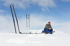 Day 8 - Sunshine (Michiel van Nimwegen) Tags: world park winter snow ski mountains heritage outdoors lappland kvikkjokk sneeuw national lapland bergen scandinavia sarek laponia padjelanta stora staloluokta scandinavi werelderfgoed sjfallet ritsem tarradalen