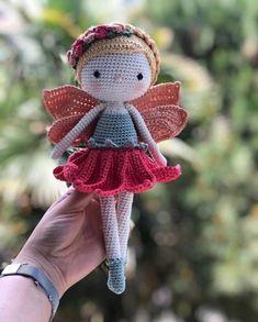 Crochet dolls 505669864411843876 - Love amigurumi Source by violetta_cano Doll Amigurumi Free Pattern, Crochet Doll Pattern, Afghan Crochet Patterns, Crochet Patterns Amigurumi, Amigurumi Doll, Crochet Fairy, Cute Crochet, Crochet Crafts, Crochet Projects