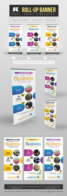 Corporate Conference Poster - Signage Print Templates Signage