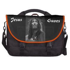 Sac chrétien 3 d'ordinateur portable de Jésus Sacoches Pour Ordinateurs Portables