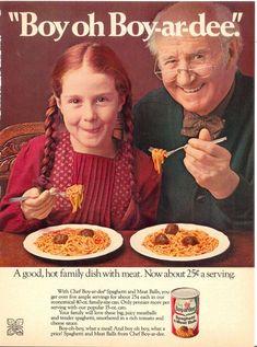 """""""Boy oh Boy-Ar-Dee"""" ~ Vintage Ad """