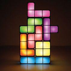 Tetris Lamp that you can rearrange!