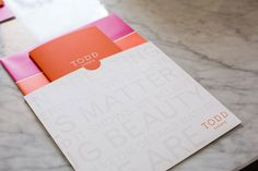 Todd Events Branding Package