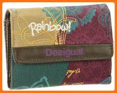 7d87d3e6b Desigual Mone Color Soft Clara Wallet 26X5205/3089 for woman - Wallets  (*Amazon