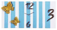 La primavera sembra non voler arrivare, ma possiamo iniziare a preparare le nostre case all'arrivo dei primi caldi raggi di sole. Perchè allora non circondarsi di colori freschi e allegri come lo splendido azzurro dell'orologio da parete Butterfly Collection?  Scoprite il resto della collezione su www.gioacchinobrindicci.it