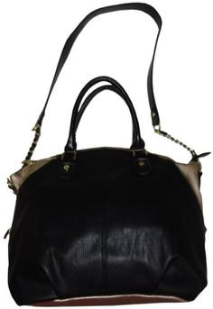 Steve Madden Women's Purse Handbag Satchel Black/Gold >>> Continue to the product at the image link.