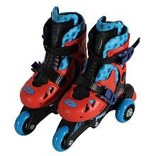 Brody- PlayWheels Ultimate Spider-Man Kids Convertible 2-in-1 Skates - Junior Size 6-9